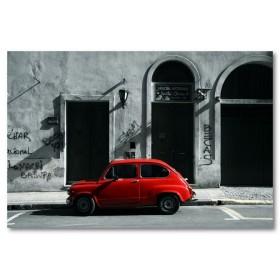 Αφίσα (μαύρο, λευκό, άσπρο, κόκκινος, αυτοκίνητο)